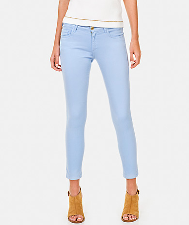 Light Blue Capri pants