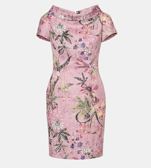 lanidor floral dress
