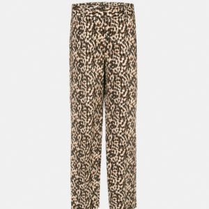 Printed capri trousers