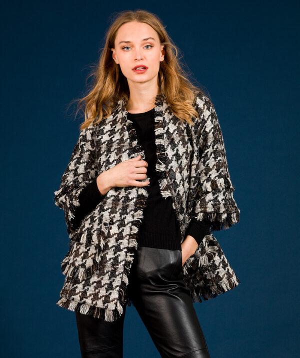 Fringed Tweed Jacket