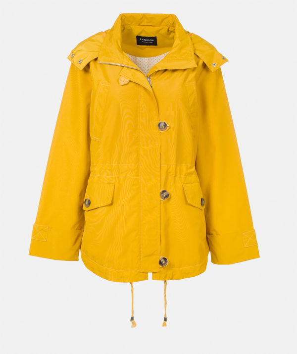 Parka with Removable Hood