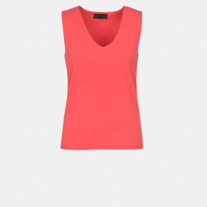 Sleeveless v-neck top
