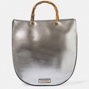 Metallic handbag