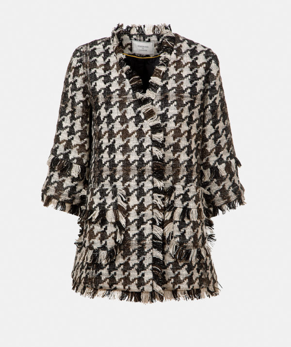 Fringed Tweed Jacket