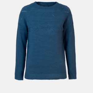 Sweater with boat neck