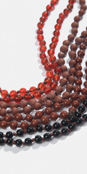 4-pack beaded necklace