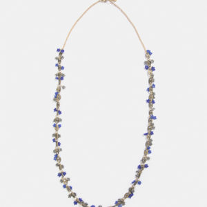 Beaded link necklace
