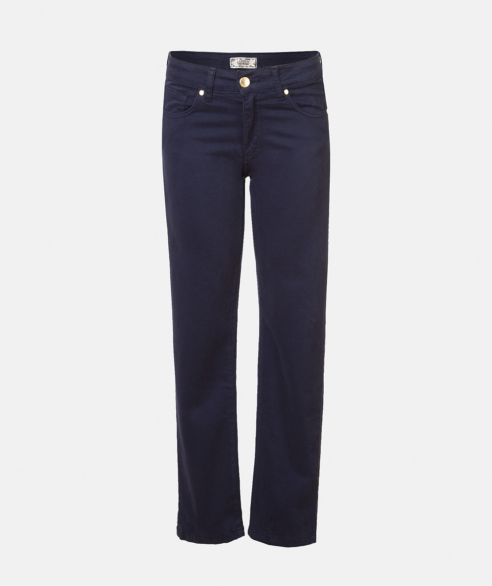 Five pockets serge trousers